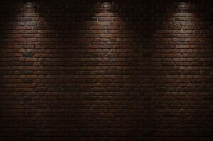 Dark Brick Background