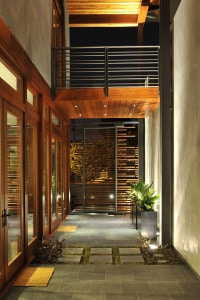 In-Home Courtyard with Balcony