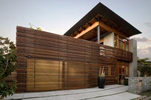Modern Home Dusk