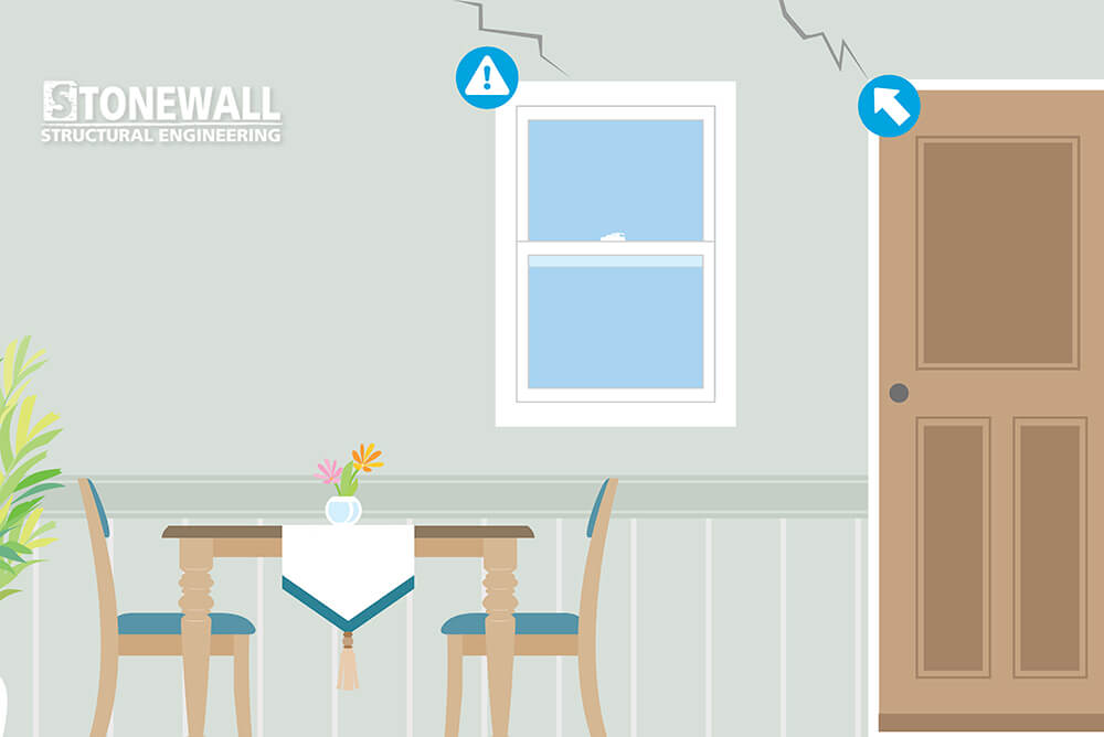 Drywall Cracks Structural Problems Stonewall Engineering
