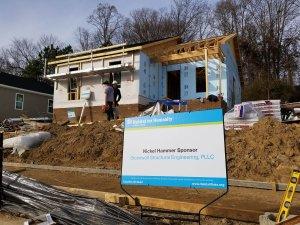 Habitat For Humanity Build Day, January 2018