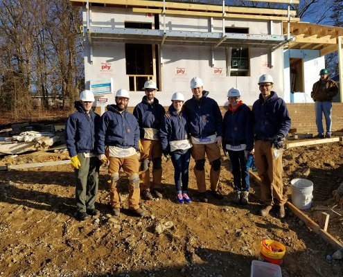 Habitat For Humanity Build Day, January 2018